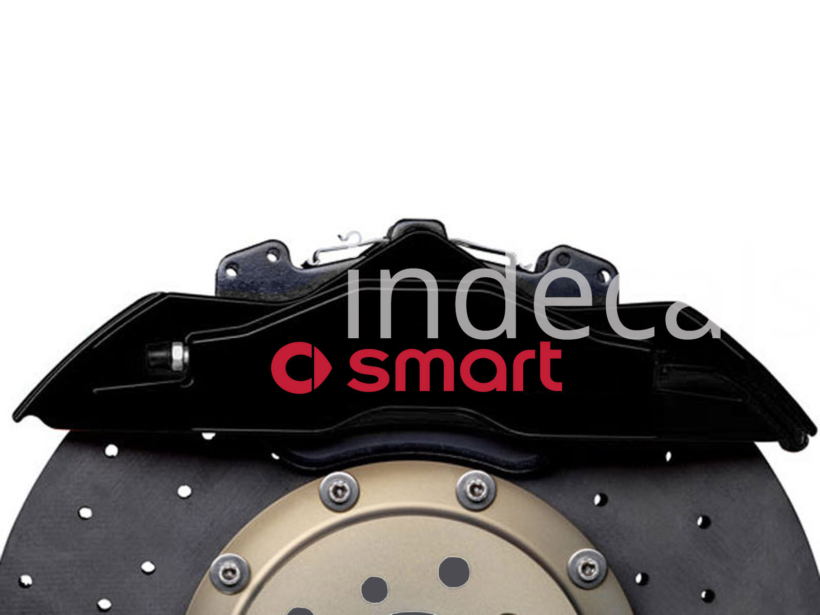 6 x Smart Stickers for Brakes - Red