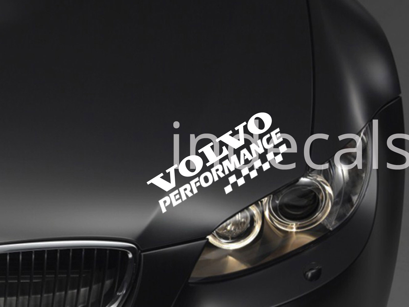 1 x Volvo Performance Sticker for Eyebrow - White