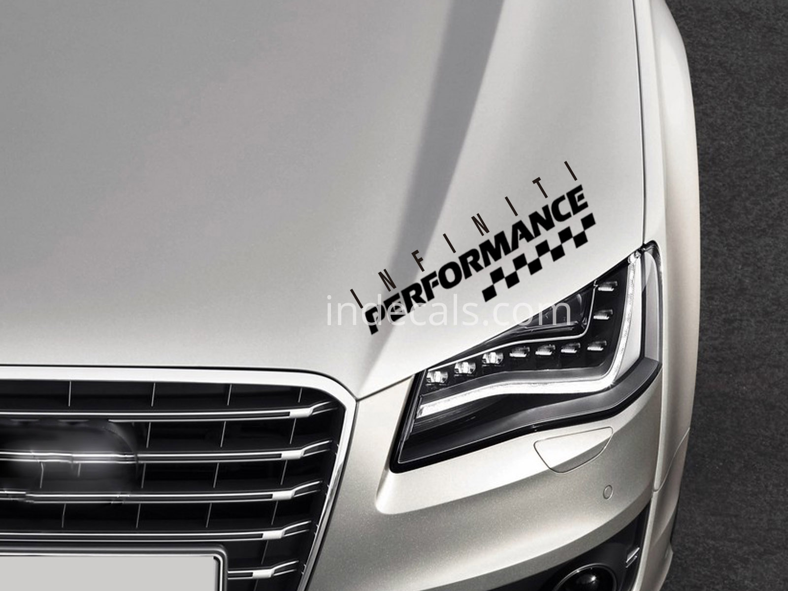 1 x Infiniti Performance Sticker - Black