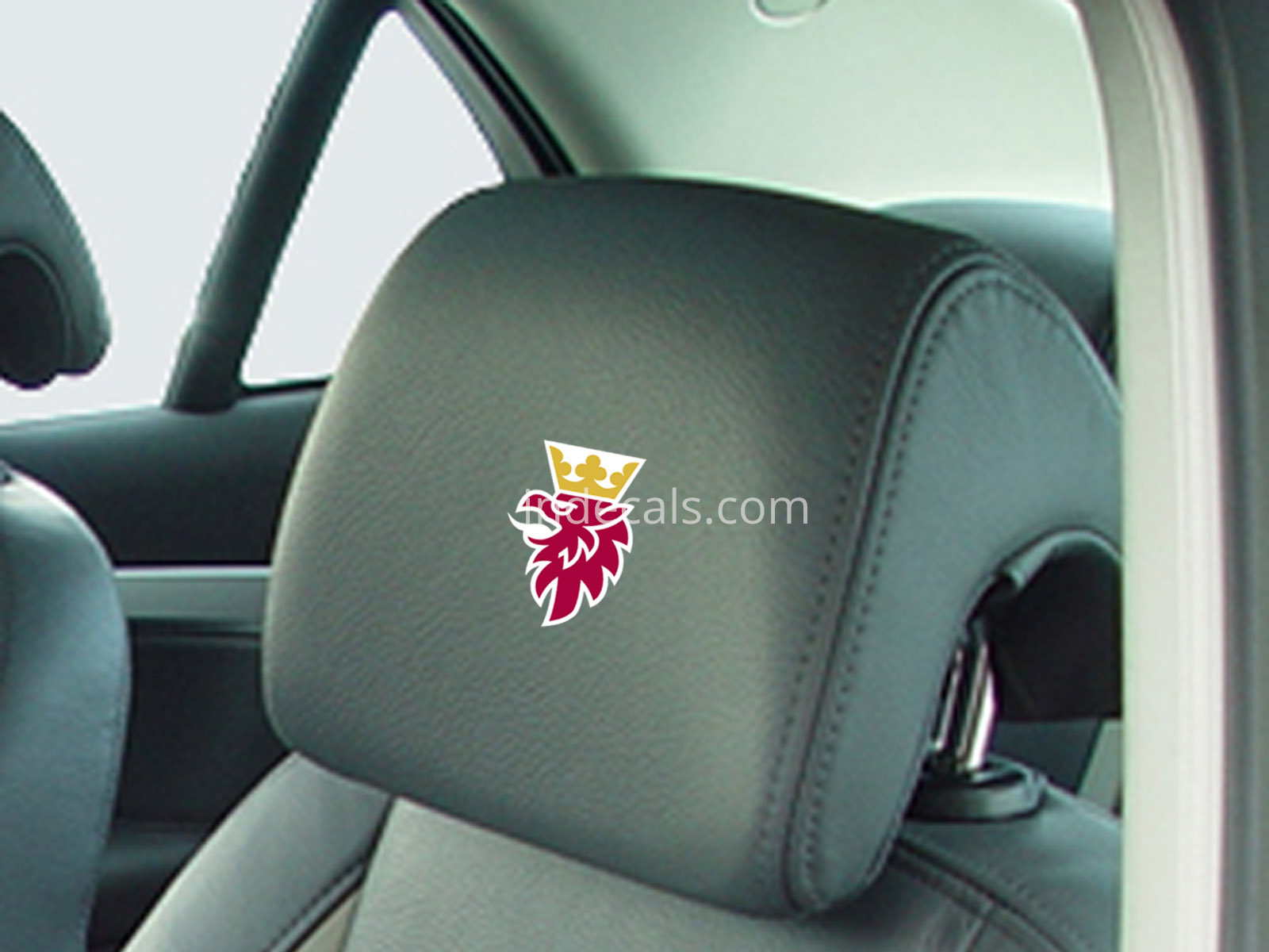 5 x Saab stickers for Headrests